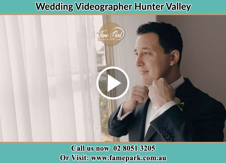 Groom Fixed His Bow Tie Valley Hunter
